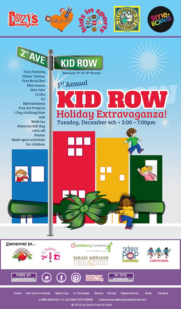 Kid Row Holiday Extravaganza 2012