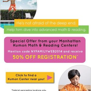 Sponsored Scoop: Manhattan Kumon Centers