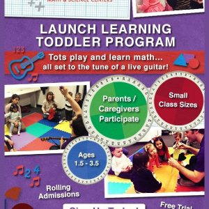 Sponsored Scoop: Launch Toddler Math Program- Sign Up Today!