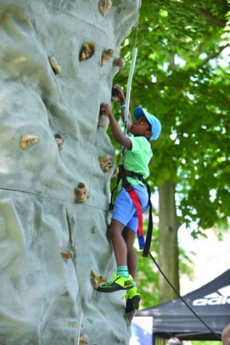 Adventures NYC will take place this Saturday in Central Park! Photo by Daniel Avila/NYC Parks.