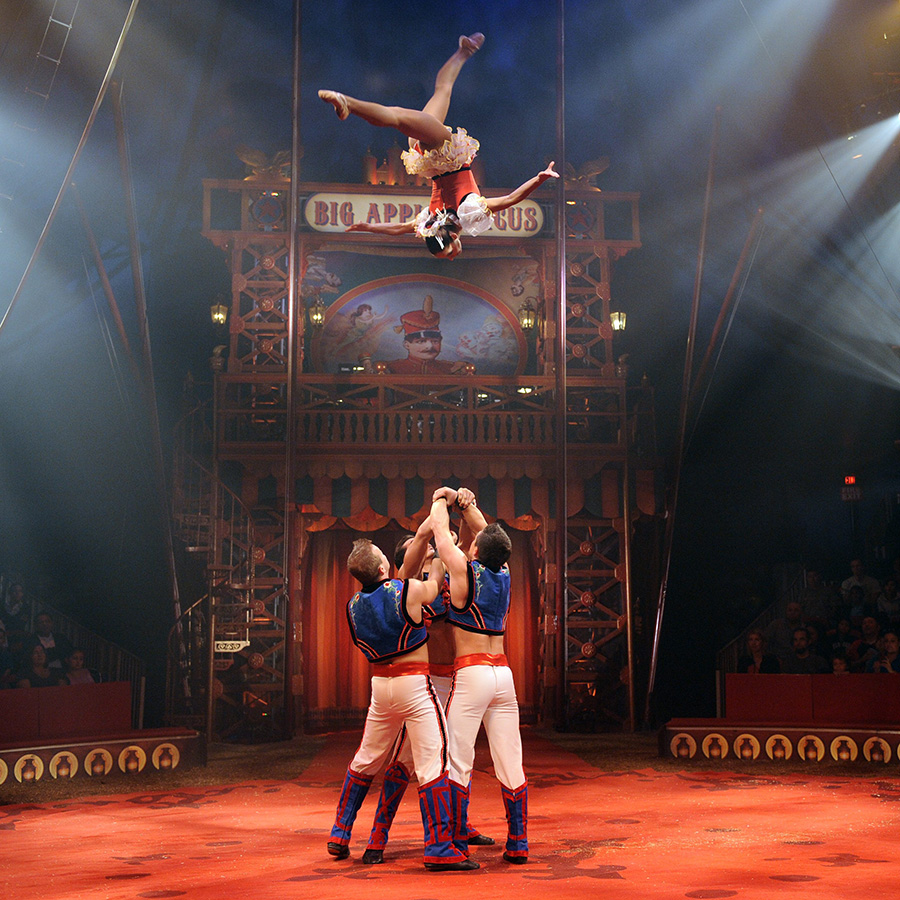 Go to the Big Apple Circus
