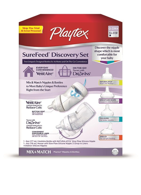 Playtex SureFeed Discovery Set