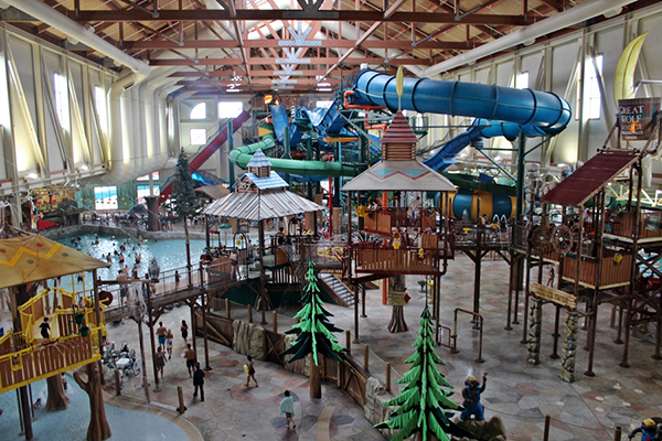 Great Wolf Lodge, Poconos, PA
