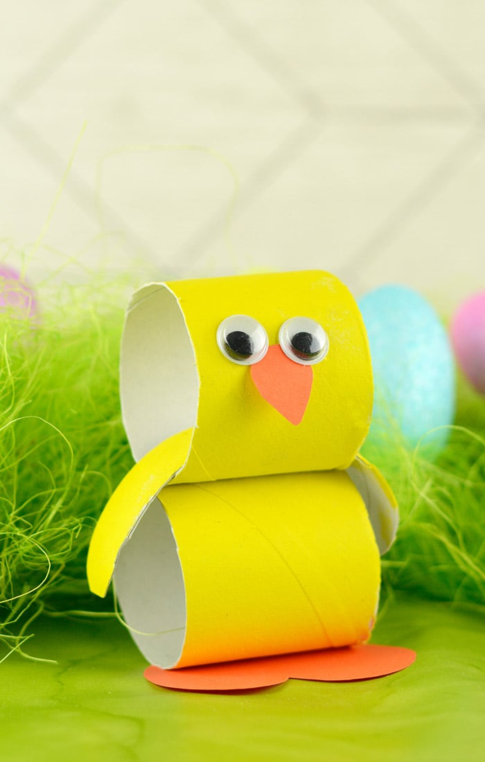 Paper Roll Chick