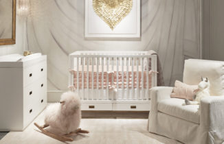 childs bedroom with luxe decorations