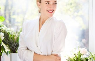 sakara life founder danielle duboise in a white shirt and jeans