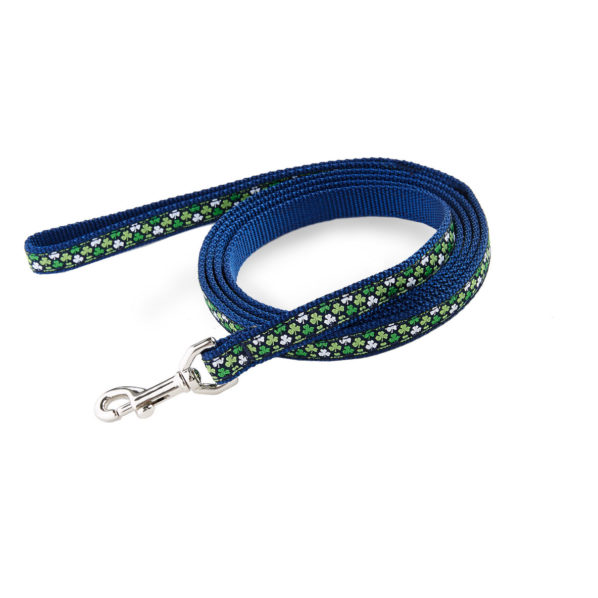 Vineyard Vines Clover Print Dog Leash