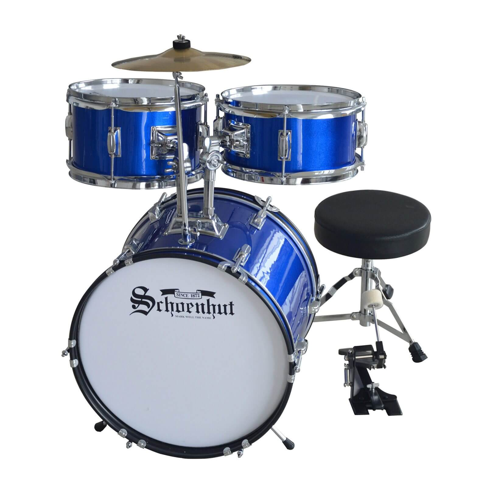 Schoenhut Five-Piece Drum Set