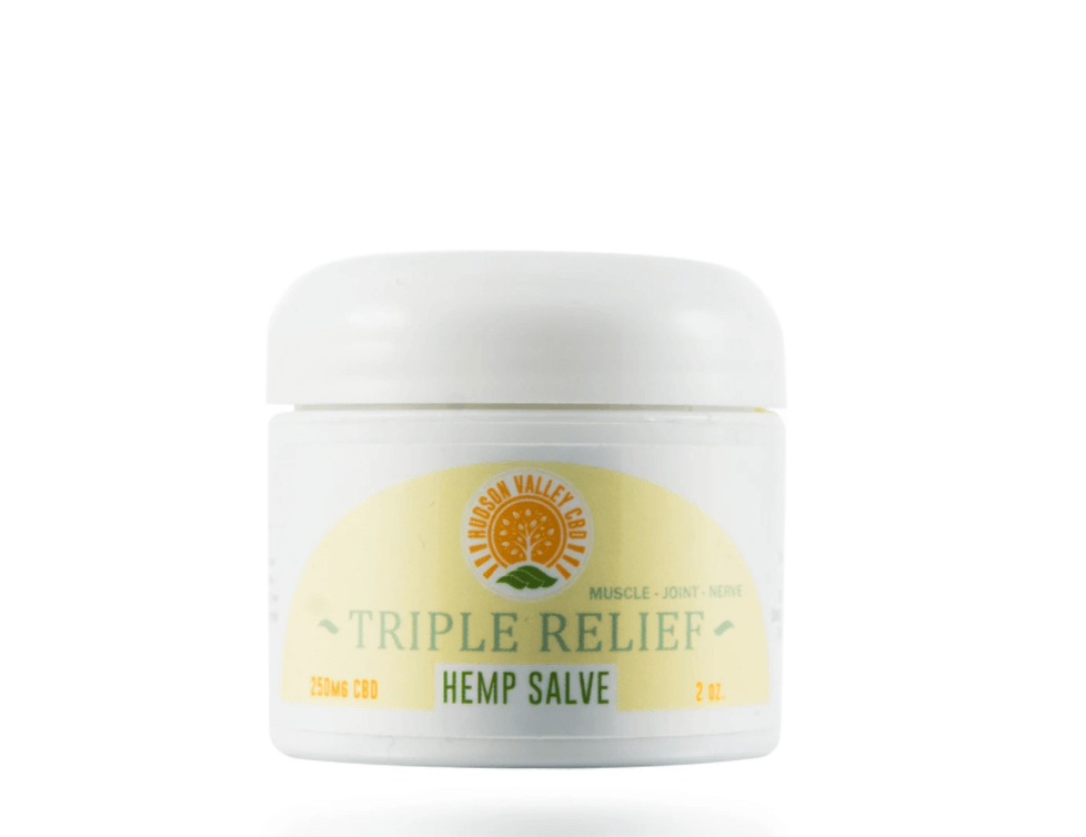 CBD Triple Relief Salve By Hudson Valley CBD