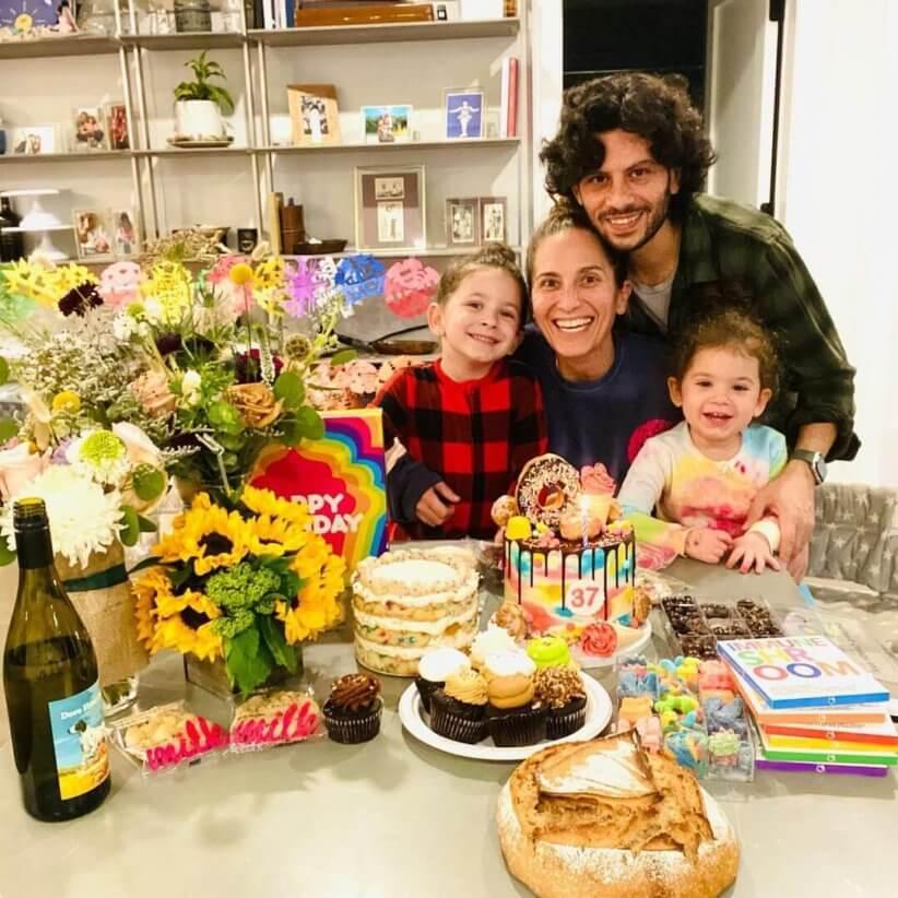 Melissa Ben-Ishay with family