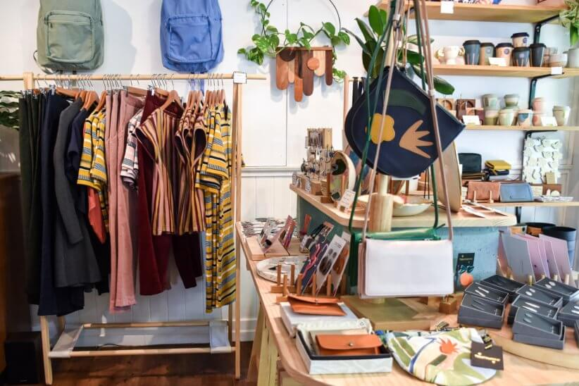 One of the sustainable stores selling clothes and other things